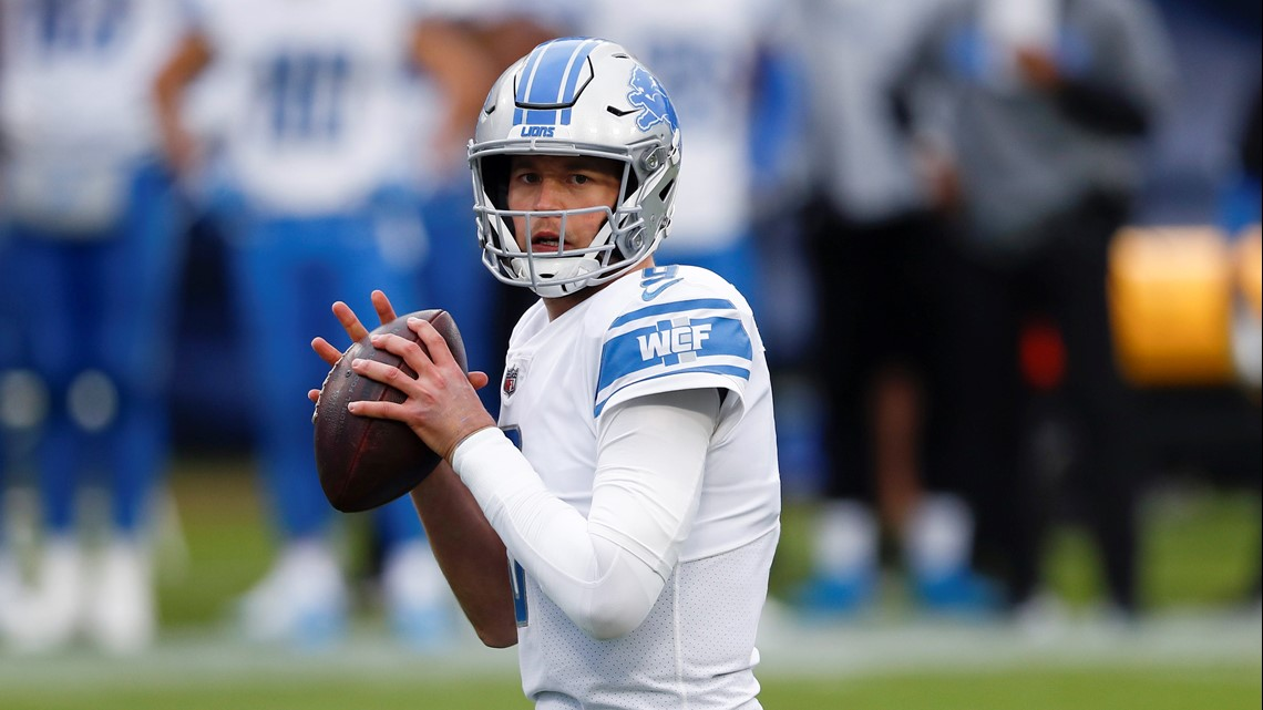 Lions' Stafford traded to Rams