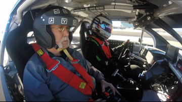 Adaptive race car provides disabled an opportunity to drive again