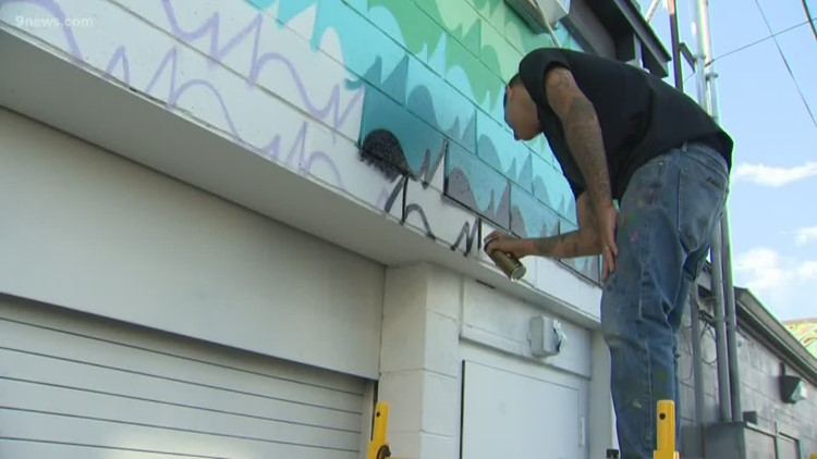 Buildings in RiNo begin to transform for annual Crush Walls Festival