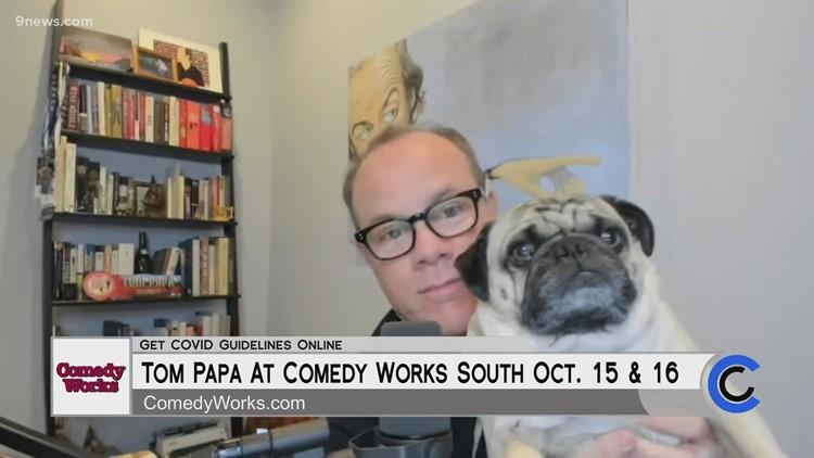Comedian Tom Papa at Denver Comedy Works - October 13, 2021