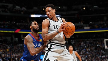 Nuggets beat Spurs 117-103 to tie series at 2-2