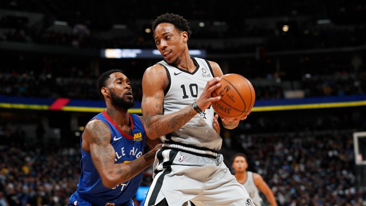 Nuggets defeat Spurs 117-103 to even series to 2-2