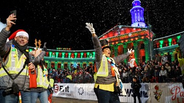 9NEWS Parade of Lights 2019