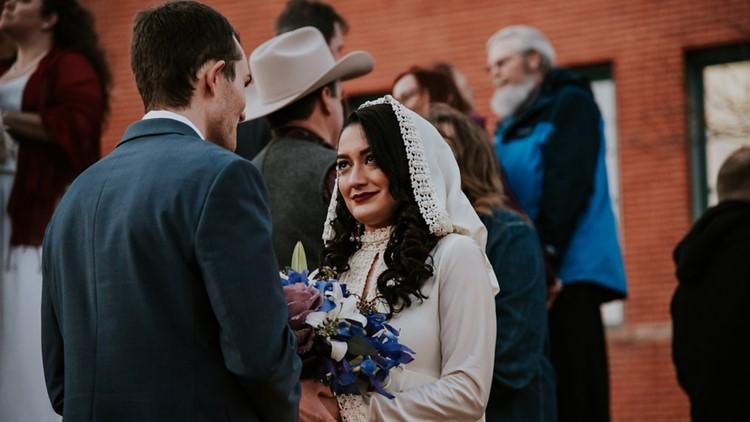 Loveland group wedding