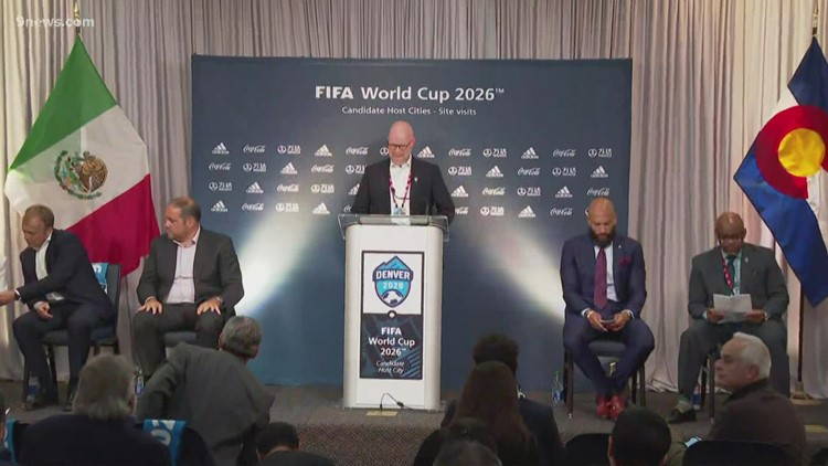 FIFA visits Denver as city bids to host 2026 World Cup games