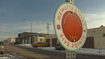 RiNo Art District gets interactive signage showcasing area's history