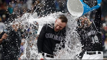 Story hits walk-off home run, Rockies upset Brewers again