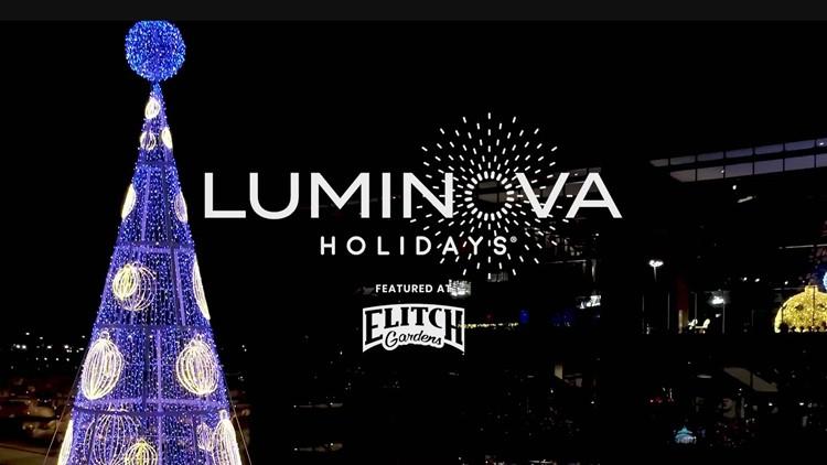 Luminova Holidays featured at Denver's Elitch Gardens