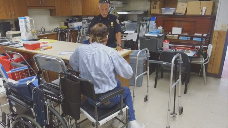 Dave Matus loans medical equipment to people in need for free. (Courtesy: Tom Cole)