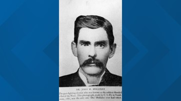 On this date in 1887, Doc Holliday died in a Colorado hotel