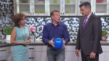 Steve Spangler: How do you make a balloon float without helium?