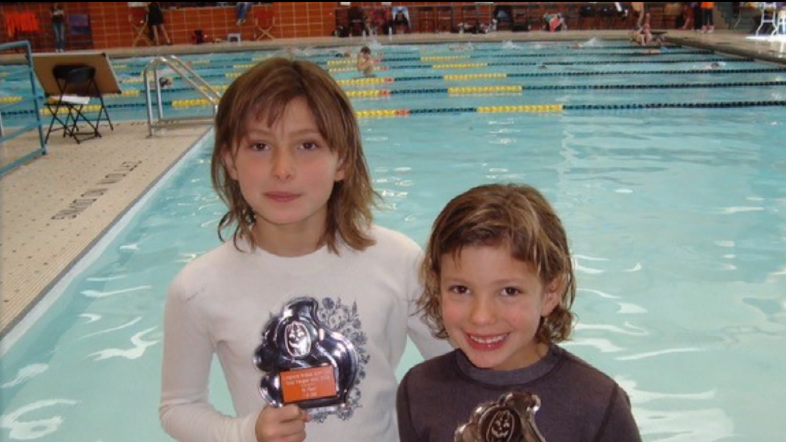 Sister act making waves for Fairview swimming