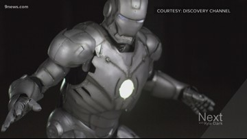 School of Mines student builds functional Iron Man suit for Discovery Channel project