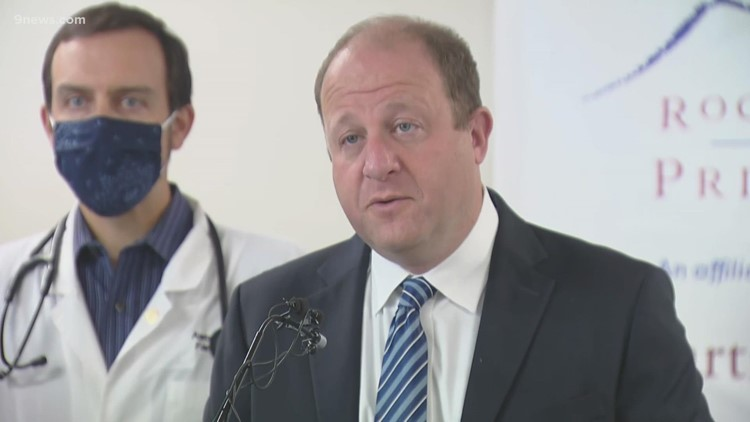 Full news conference: Polis gives COVID update, announces new primary care vaccination program