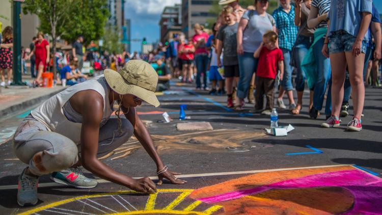 PHOTOS | Denver Chalk Art Festival in Larimer Square