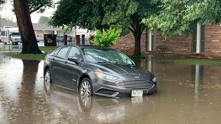 Significant flash flooding impacting streets around Greeley