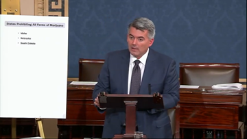 Gardner amendment to allow pot shops to use U.S. banks dead on arrival