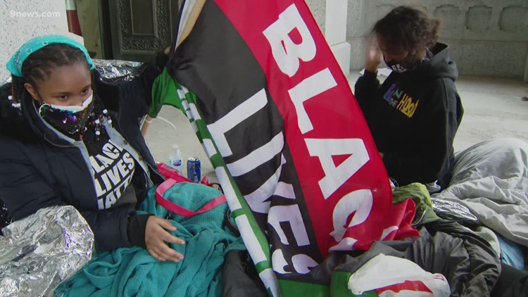 WATCH: Sit-in taking place at Colorado Capitol to protest police shooting of Ma'Khia Bryant