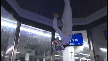 13-year-old Coloradan is face of indoor skydiving