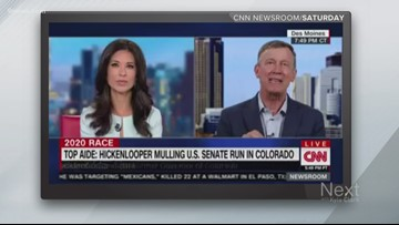 Hickenlooper isn't running for president, but what about the Senate?