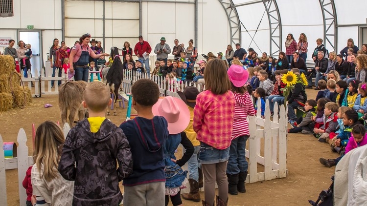 National Western Stock Show  farmyard follies kids show
