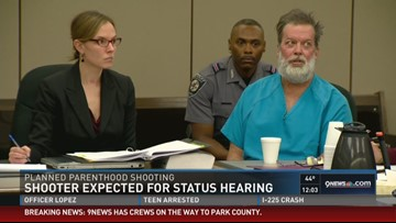 Colorado Springs shooter in court