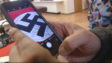 Families of veterans, in Colorado and beyond, are bonded by a swastika banner