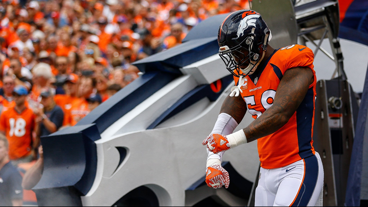 Broncos' Von Miller being investigated over catching shark, report says