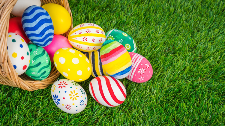 Image result for easter egg hunt boulder