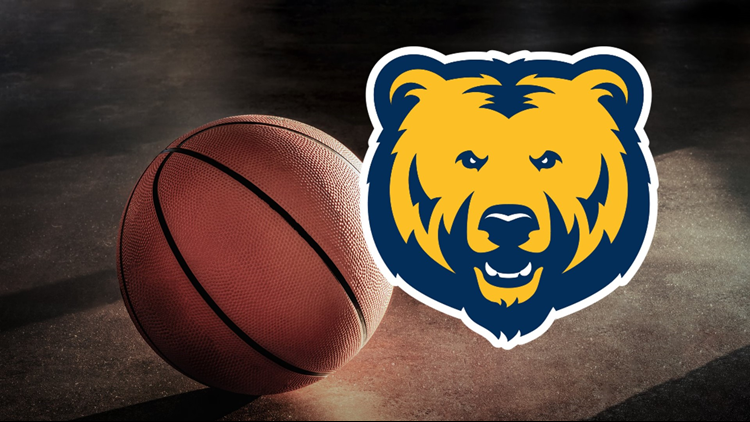 UNC Northern Colorado Bears Basketball Cropped