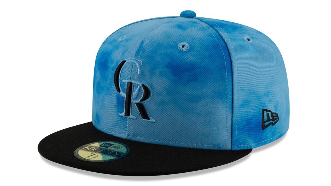 quality design 8c6b8 80d0c Colorado Rockies 2019 Father s Day Hat
