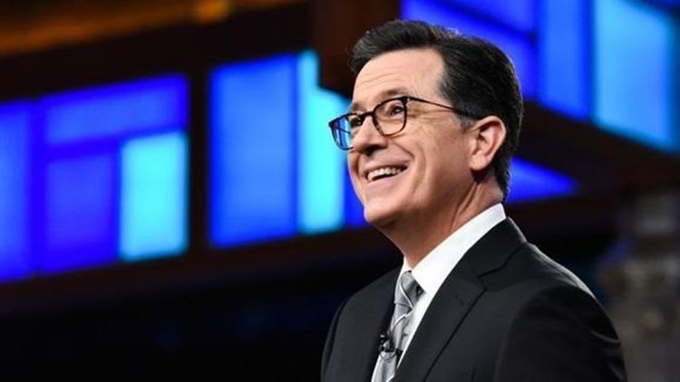 Stephen Colbert apologizes to Trump, says 'CNN lies'