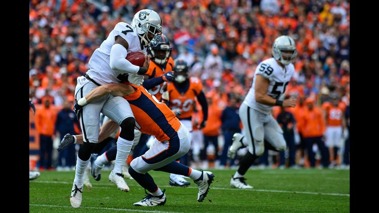 Broncos sign former Raiders punter Marquette King to three-year deal