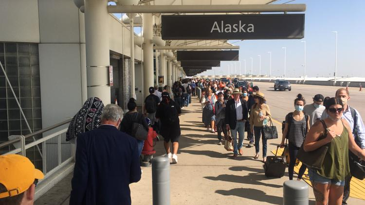 What's causing travelers' troubles at DIA?