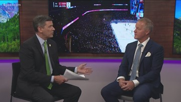 Kyle Keefe of Altitude TV talks Avalanche losing streak; television standoff