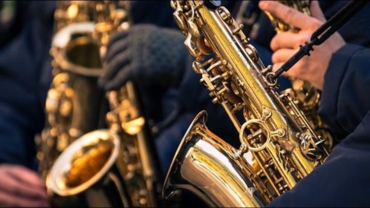 Jazz sax saxophones