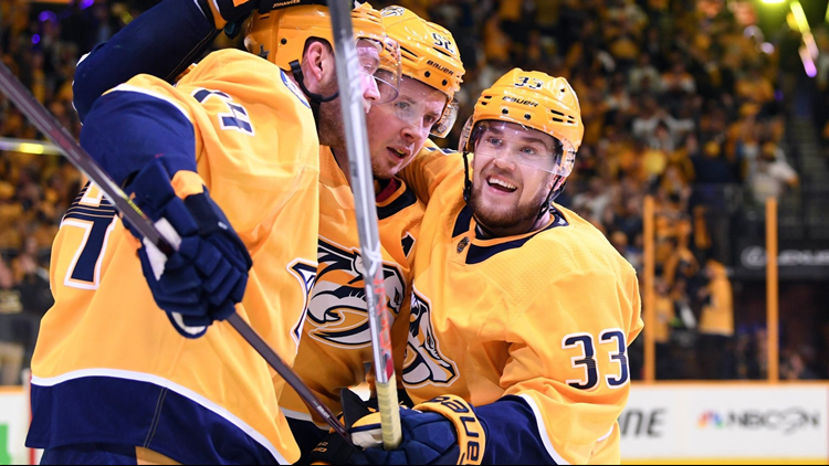 The Nashville Predators took a 2-0 series lead after outscoring the Avalanche 5-4 in Game 2 of the Stanley Cup Playoffs.Down a game after falling 5-2 to the Nashville Predators on Thursday, the Avalanche entered the game without another key player on the back end. The team announced defenseman Samuel Girard would be out just before the start of the game with an upper body injury.