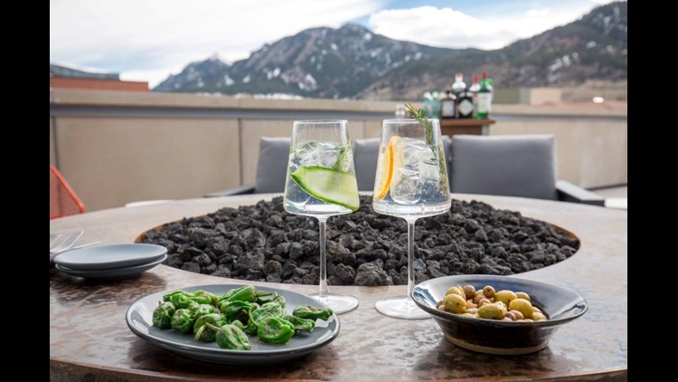 The menu focuses on Basque-style steaks, tapas and gin and tonics.