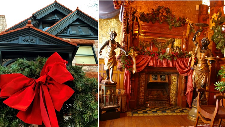 The Molly Brown House Museum CHRISTMAS collage