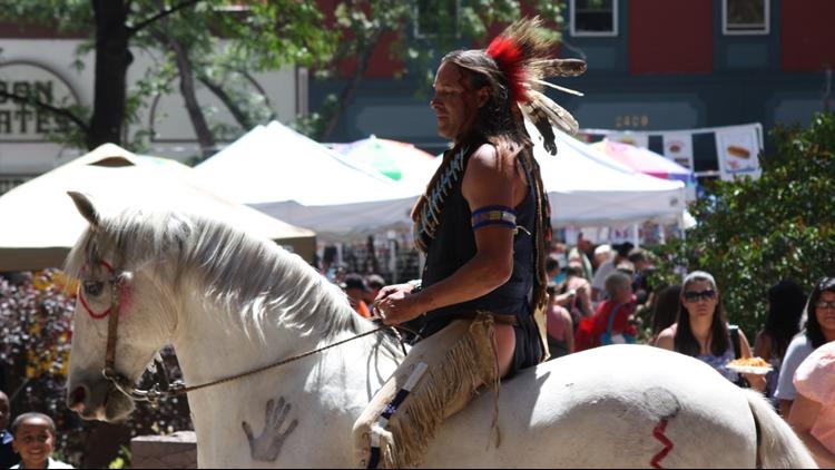 Territory Days horseback