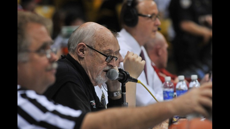 """""""I thought he was the best public-address announcer in Colorado history."""""""