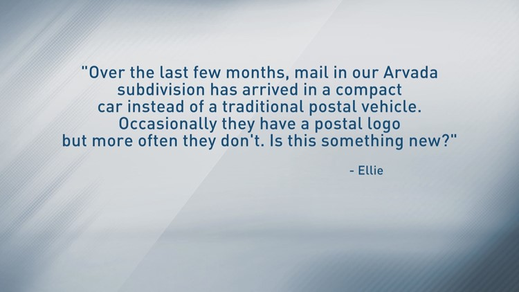 If you aren't from a rural area, it might be jarring to see a mail carrier in their personal vehicle.