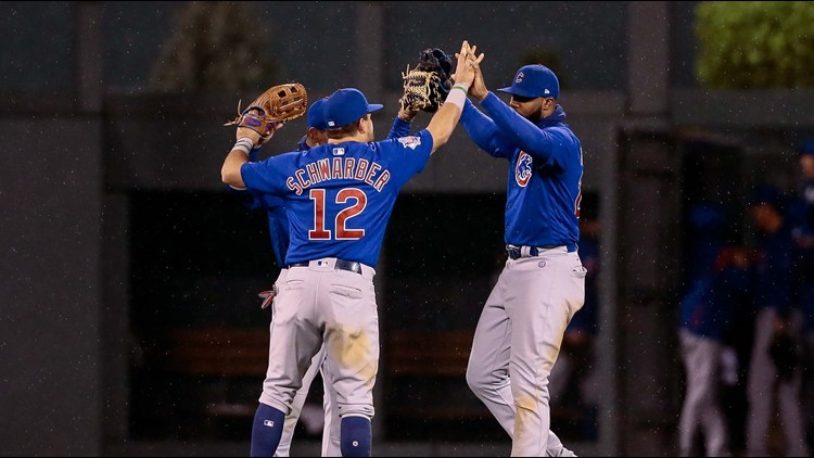 Cubs win with 'wild' finish
