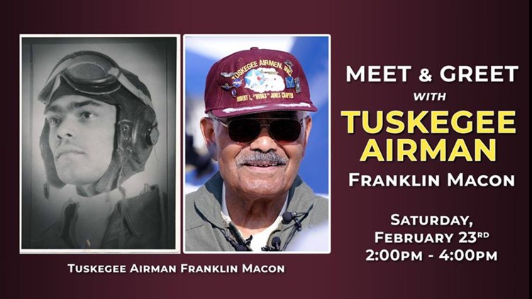 Wings Over the Rockies Air & Space Museum Frankin Macon tuskegee airman