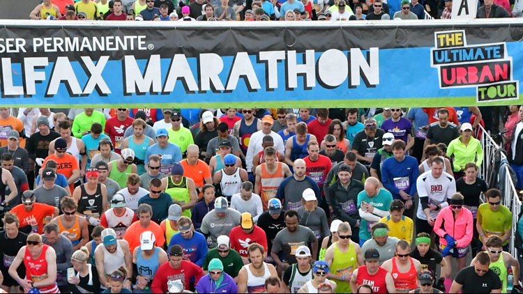 Instead of freaking out before the Colfax Marathon, one race ambassador says to fantasize about what you'll eat afterwards instead.
