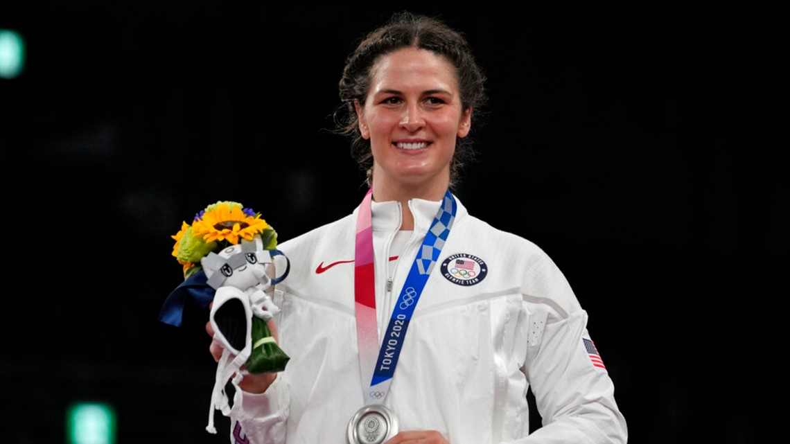 Colorado wrestler Adeline Gray wins silver in Tokyo for first Olympic medal