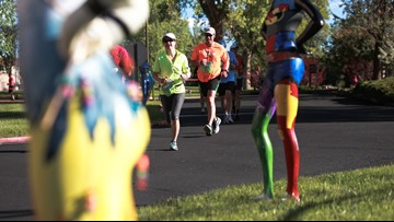 The story behind those headless mannequins on the Colfax Marathon race route
