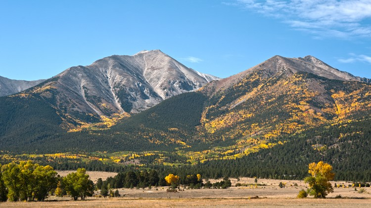 Mount Princeton near Buena Vista, Colorado,