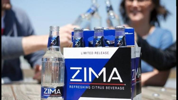 Zima's back - back again. Zima's back - tell a friend.