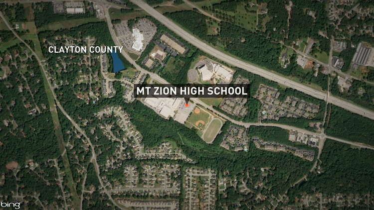 1 dead after shooting near Mt. Zion High in Georgia ... Mt High Map on big sky resort montana map, pv high map, oh high map,